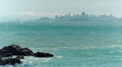 SF viewed from Ft.Baker near Sausalito